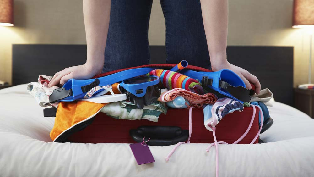 Julie's top tips for packing your case