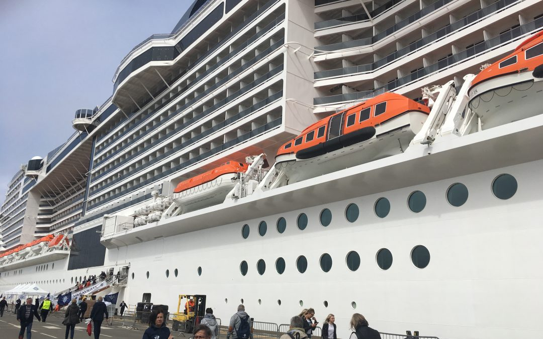 Top Visit of the MSC Meraviglia Ship