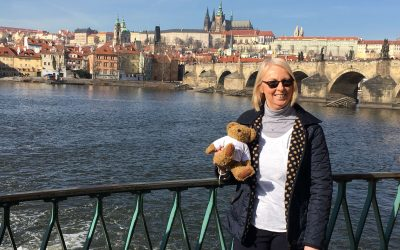 Czech out Julie's travels to Prague with #BrilliantBear